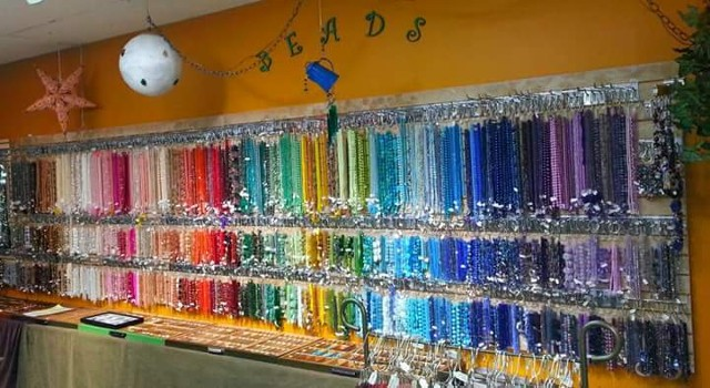 The hundreds of thousands of gemstones, beads, pearls and so much more we have available in strands